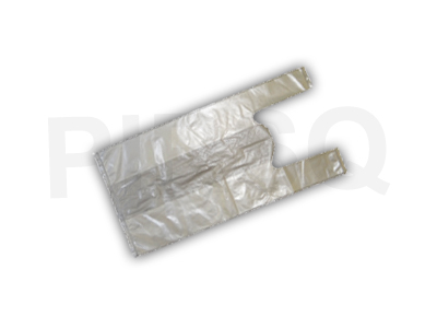"BIODEGRADABLE CARRY BAG | W-6.5"" X L-13"" Image"