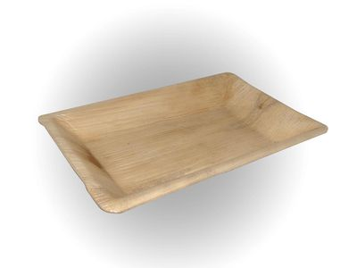 Areca Leaf Rectangle Plate | 9 X 6 Image