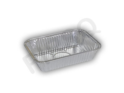 Aluminium Food Container With Paper Lid | 660 ML Image