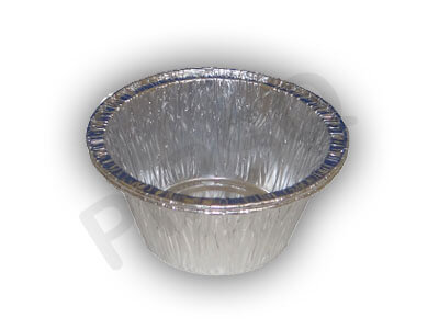 Aluminium Food Container | Round | 140 ML Image