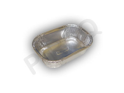 Aluminium Food Container | Rectangular | 120 ML Image