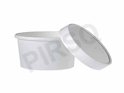 Paper Container With Paper Lid | 250 ML Image
