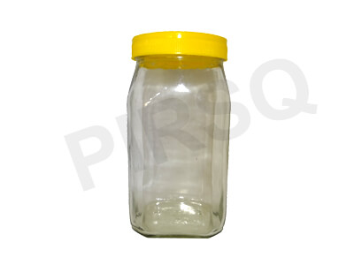 Honey Glass Jar With Plastic Lid | 1 KG Image