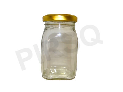 Honey Glass Jar With Lid | 250 Gram Image