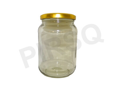Glass Jar With Cap | 300 ML Image