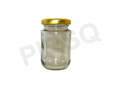 Honey Glass Jar With Lid | 200 Gram Image