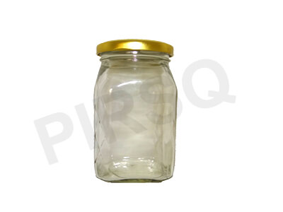 Honey Glass Jar With Lid | 500 Gram Image