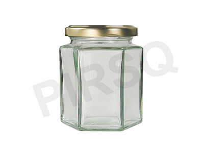 Glass Jar With Cap | 250 Gram Image