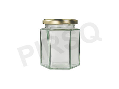 Glass Jar With Cap | 200 Gram Image