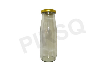 Glass Bottle With Cap | 350 ML Image