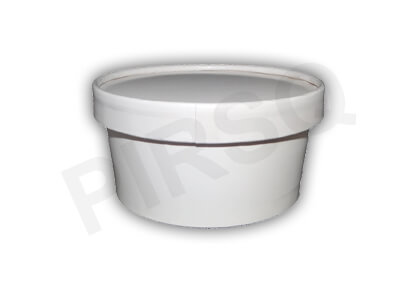 Paper Container With Paper Lid | 350 ML Image