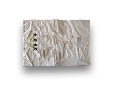 "Biodegradable Carry Bag | D Cut | W-12"" X L-17"" Image"