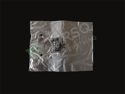 "Biodegradable Garment Bags | Transparent | W-11"" X L-14"" Image"