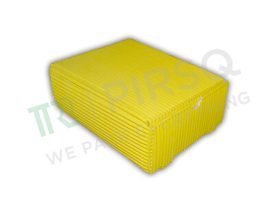 "Biodegradable Paper Box | Spill Proof | Large | W-6"" X L-7.5"" X H-2.5"" Image"