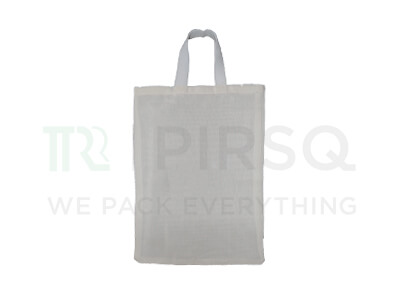 "Cloth Bag With Handle | W-13.5"" X H-19.5"" Image"