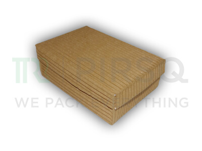 "Biryani Box | With Layered Pad | Spill Proof | W-4"" X L-6"" X H-2"" Image"