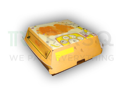 Burger Box | Corrugated Box | Medium Size Image