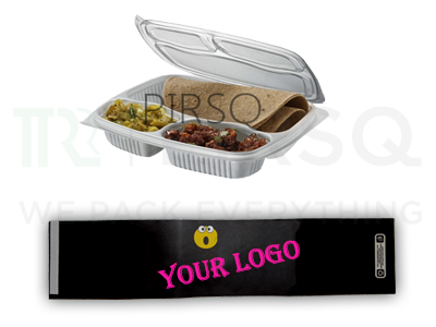 3 Compartment Meal Tray | Sleeve Image