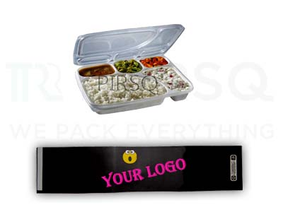 5 Compartment Meal Tray | Sleeve Image