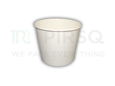 Ice Cream Tub | White | 725 ML Image
