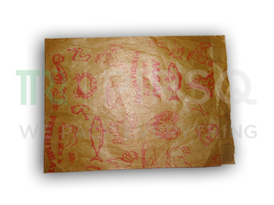 Frozen Meat Packaging Bag | With Logo | Kraft Bag | 1 KG Image