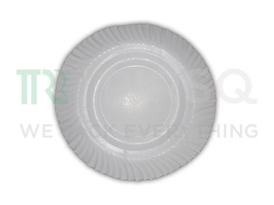 Paper Plate | Use And Throw Plate | 12 Inch Image