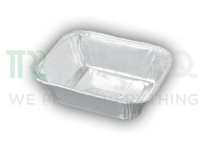 Aluminium Foil Container | Rectangular | 150 ML Image