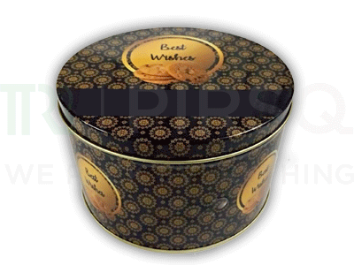 Tin Container | Dry Fruits Packaging Container | 200 Grams Image