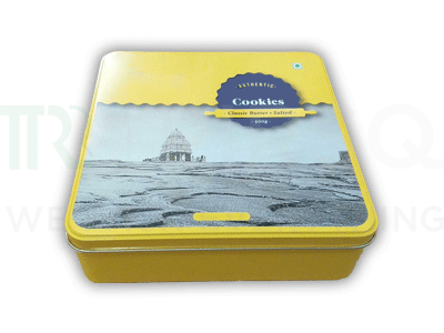 Cookie Packaging Tin Container | 1000 Grams Image