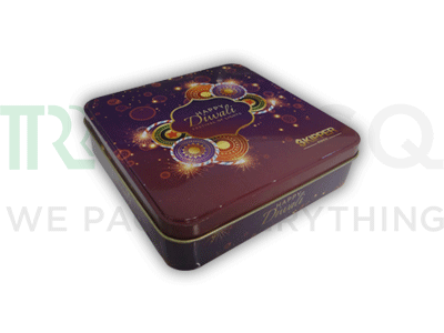 Tin Container | Sweet Packaging Container | 500 Grams Image