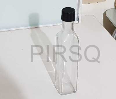 Small Oil Bottle | Tall | 60 ML Image
