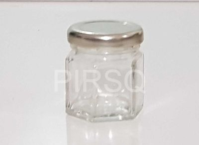 Coffee Beans Small Glass Jar | With Lid | 45 ML Image