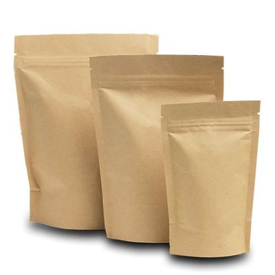 Kraft Paper Stand up Pouches | Sample Set Image