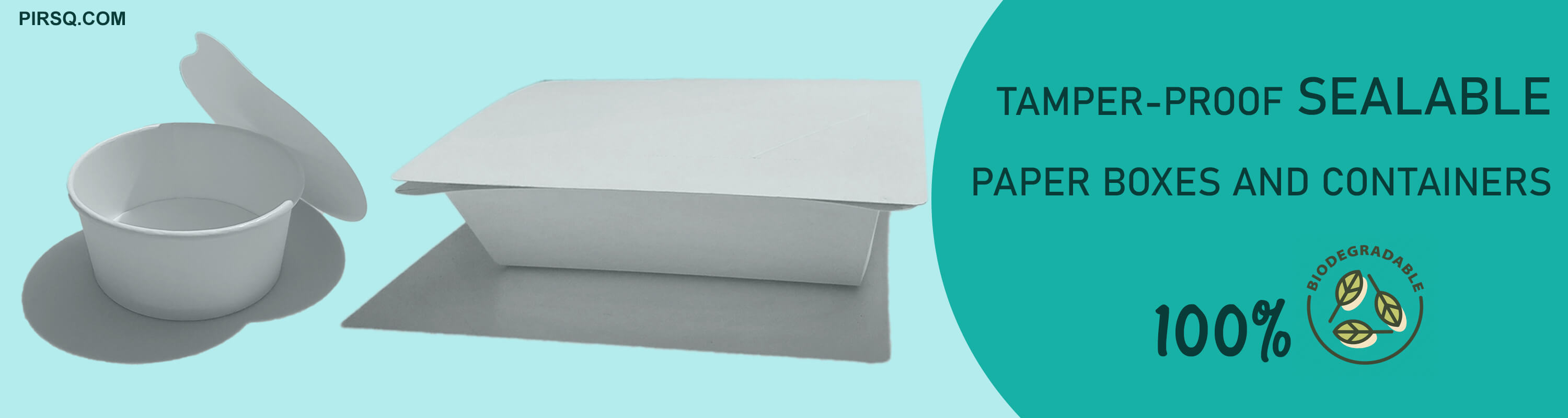 Tamper-Proof Paper Box